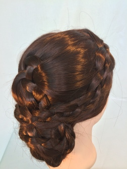 Four Braided Hairstyle